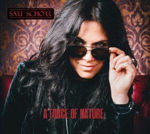 Sari Schorr - A Force of Nature Album Art