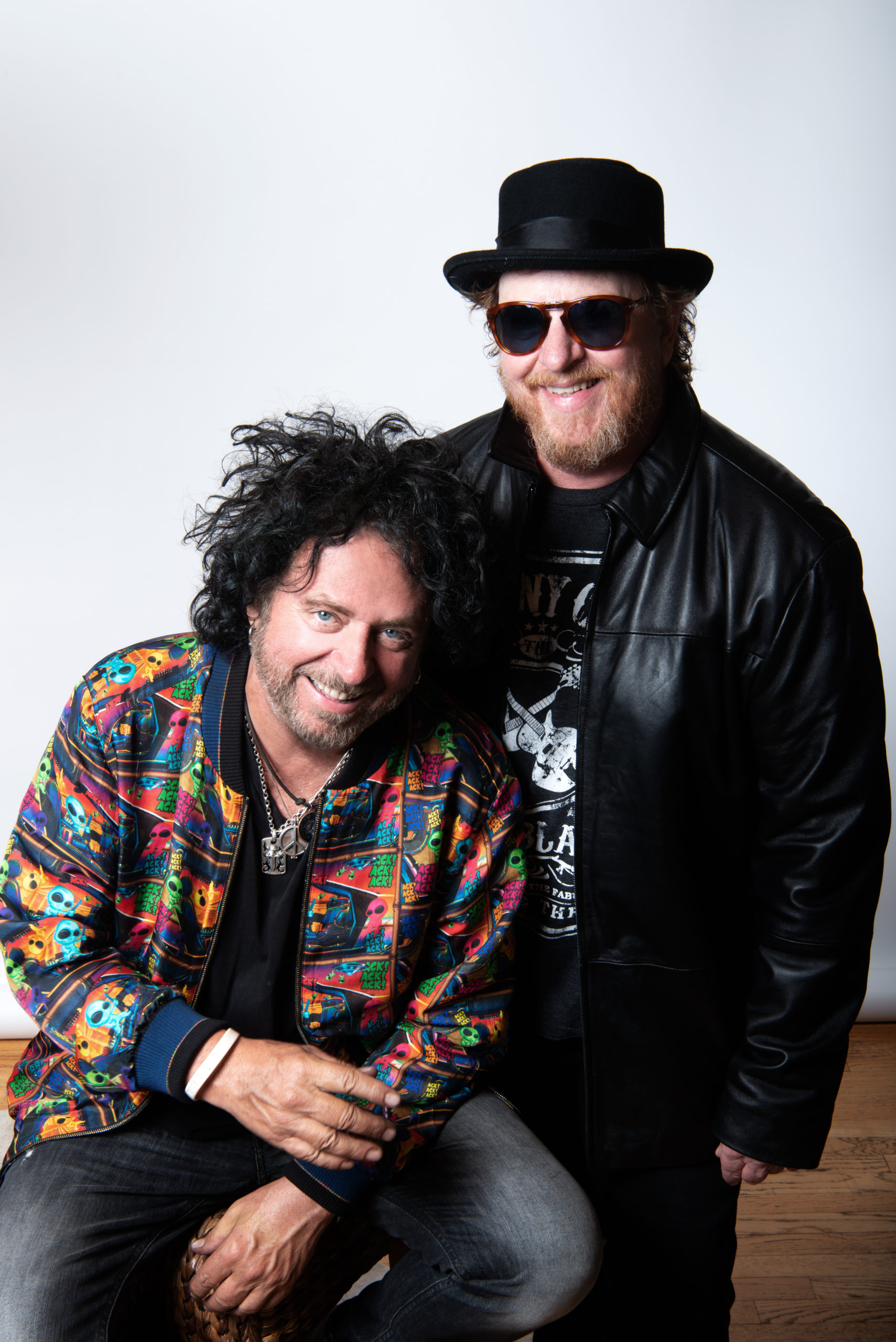 Steve Lukather & Joseph Williams. Photo by Alex Solca.