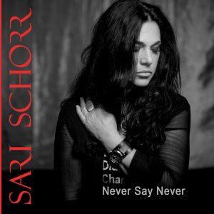 Sari Schorr Never Say Never Artwork