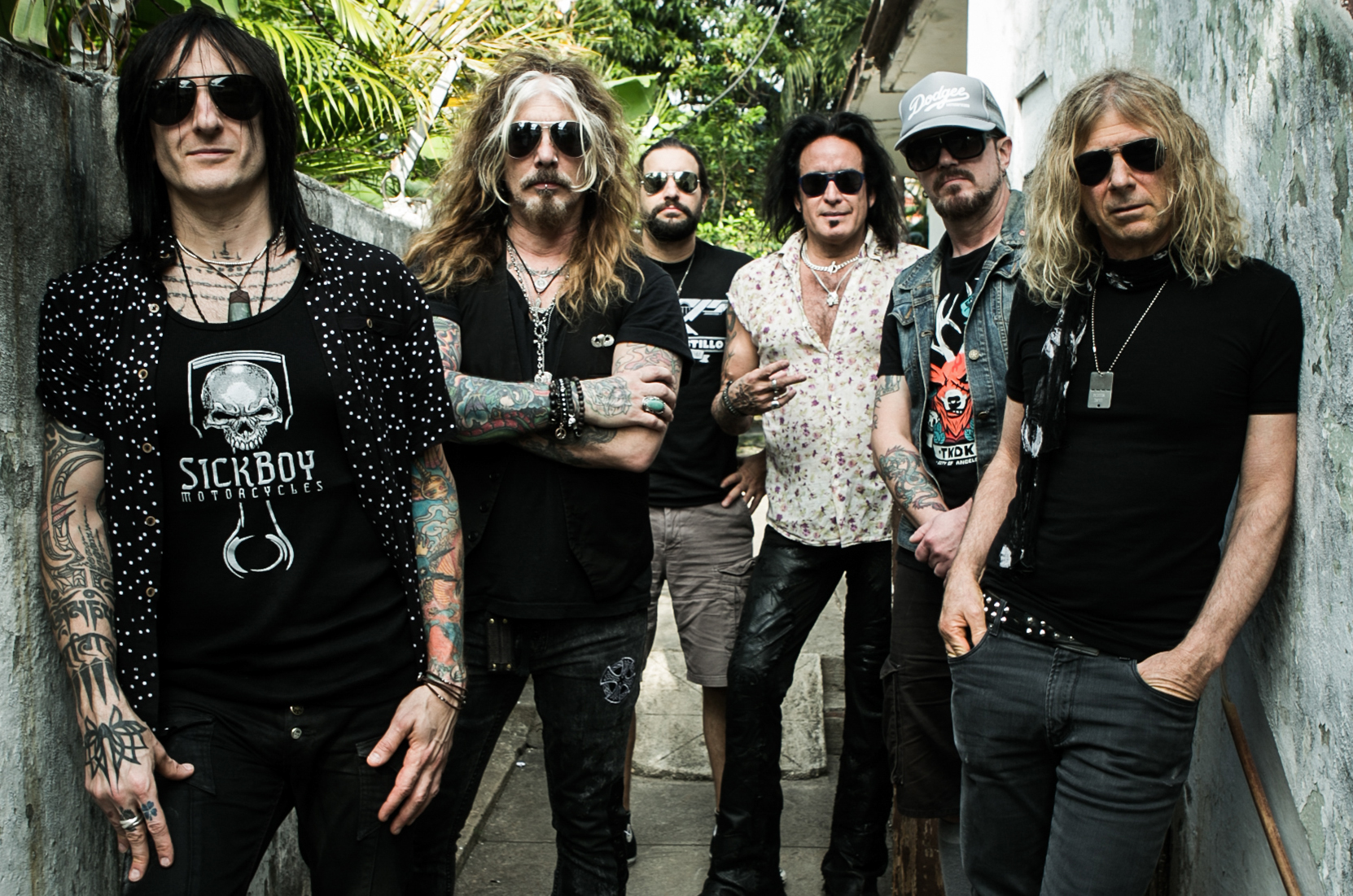 The Dead Daisies - Band Photo